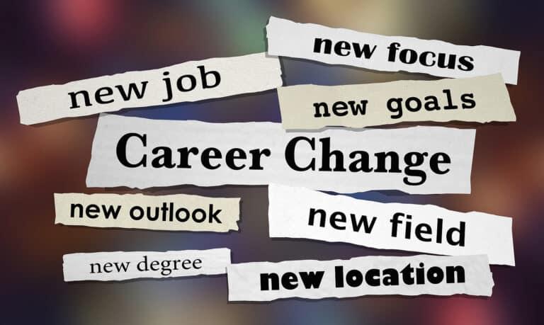 Career Change New Job Advancement Headlines 3d Illustration